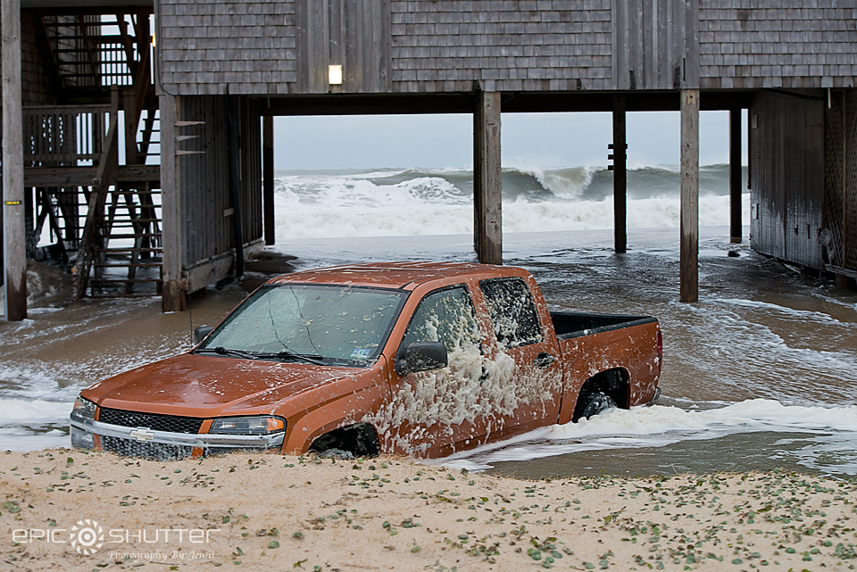 Winter Storm Jonas, Cape Hatteras Motels, Buxton, NC, OBX, Hatteras Island, Januaray 24, 2016, Waves, Surfing, Hatteras Island, Photographer, Epic Shutter Photography