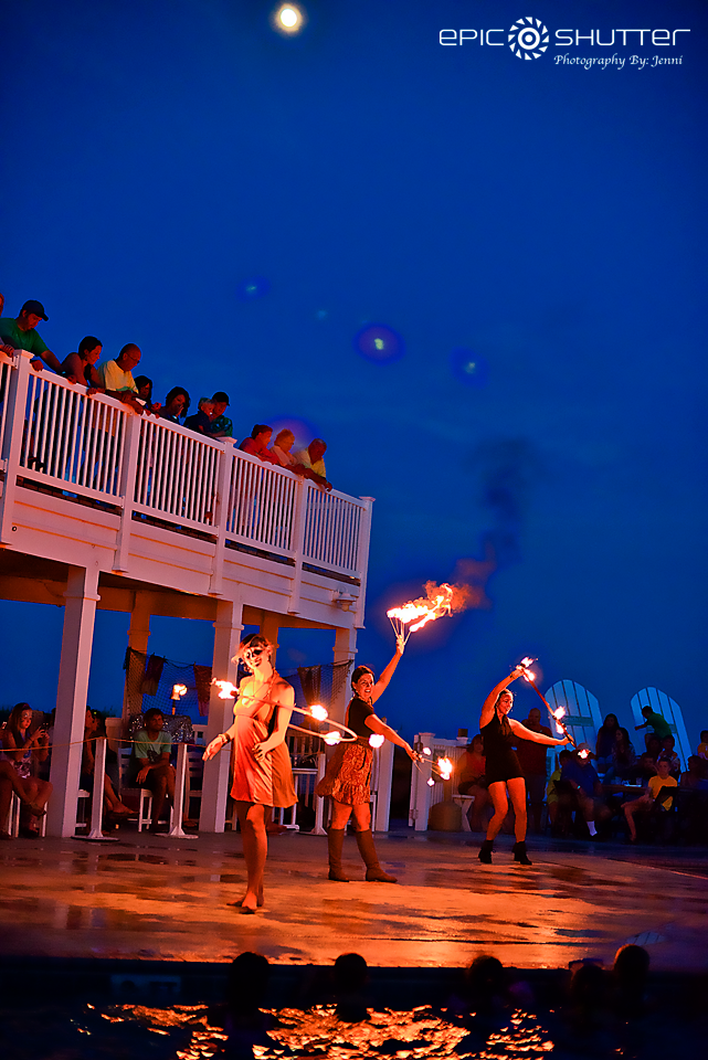 Beach Klub, Luau, Avon Pier, Avon, North Carolina, OBX, NC, Hatteras Island, Luau, Family fun, mermaids, pirates, music, food, and entertainment, Koru Village, Epic Shutter Photography, fire dancing, vacation fun, family vacation