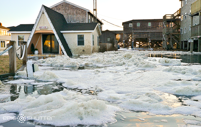 Winter storm, beating the coastline, Buxton, NC, OBX, Hatteras Island, Waves, Photographer, Epic Shutter Photography