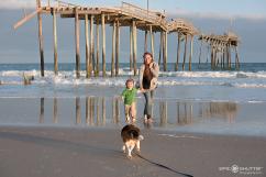 Family Photos, Frisco Pier, Epic Shutter Photography, One Year Portraits, Outer Banks Photographer, OBX, Hatteras Island, Nikon, Frisco, Buxton, Hatteras Island Photographers, Pet Photos, Beach Pet Photos, Pet Family photos, OBX Photographers, OBX, North Carolina