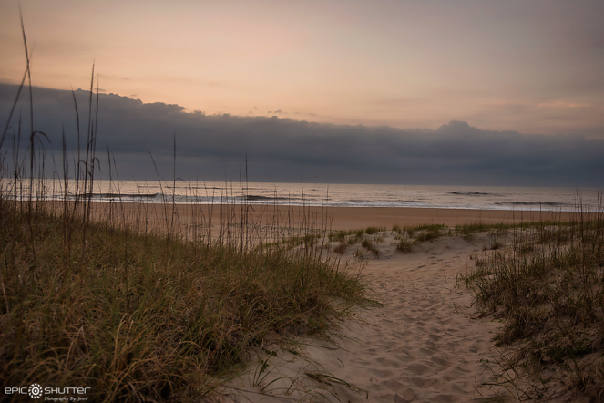 May 1, 2016, Good Morning, Sunrise, Coffee, Pajamas, My backyard, Avon, Hatteras Island, North Carolina, OBX, Hatteras Island Photographers, Beach Photographer, Moon, Sunrise, Waves, Life on a Sandbar, Epic Shutter Photography, Cape Hatteras National Seashore, Home, Island Photographer