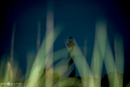 Cape Hatteras Lighthouse, Sunset, Island Nights, Island Night Life, Night Light, Epic Shutter Photography, Storm Clouds, Lighthouse, Night Photography, Hatteras Island Photographer, OBX Photographer, Epic Art Print, Cape Hatteras National Seashore, Outer Banks, NC, Nikon, Landscapes