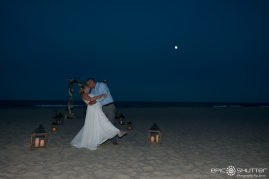 Corolla, Outer Banks, North Carolina, Corolla, Weddings, Wedding Photography, Bride and Groom, Moonlit, Wedding Photographers, OBX Weddings, OBX Wedding Photographers, Outer Banks, North Carolina Photographers, Hatteras Island Photographers, OBWA Photographers, Hatteras Photographers, Corolla Beach Weddings, Ten Broeck Dunes Community, Sunset, Moon, Epic Shutter Photography, Smile and Wave. One Epic Shutter at a Time, Wedding and Waves