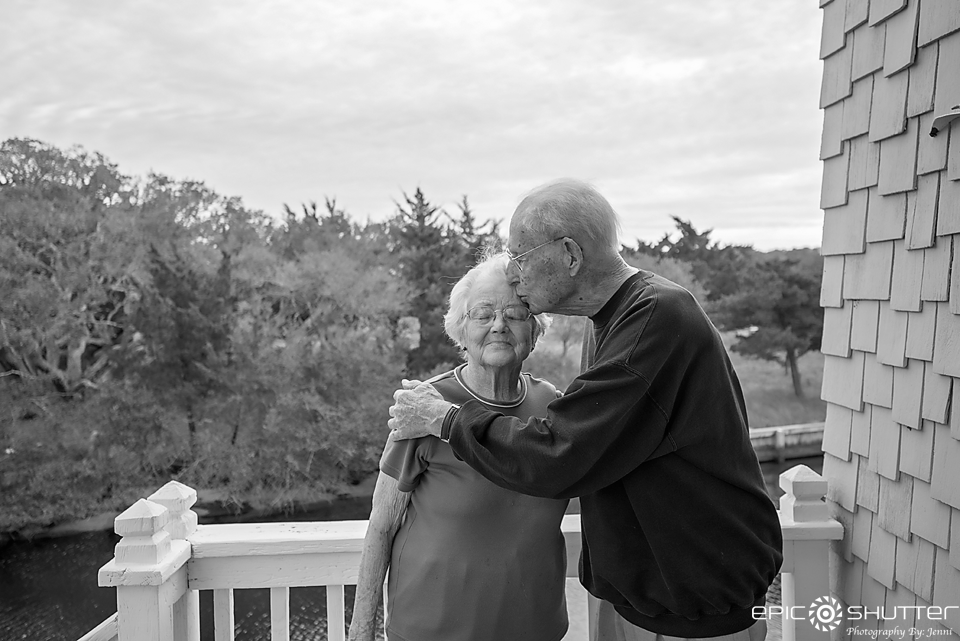 Manson and Vera Meekins, Kinnakeet Love Story, Coast Guard, Fisherman, Huntsman, Manson Meekins, Legend, Avon, Hatteras Island, North Carolina, 101 Birthday, Hatteras Island Documentary Photographers, Outer Banks Photographers, Hatteras Photographers, Epic Shutter Photography, Smile and Wave One Epic Shutter at a Time