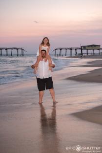 Family Portraits, Frisco Pier, Frisco, Hatteras Island, North Carolina, Epic Shutter Photography, Outer Banks Photographers, Hatteras Island Family Photographers, Family Photos, Children's Portraits, Cape Hatteras National Seashore, OBX Photographers
