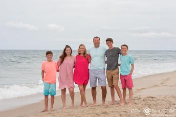 Epic Shutter Photography, Family Portraits, Family Photos, Family Vacation, Outer Banks, South, Nags Head, North Carolina, Beach Photos, Family Beach Photos, Outer Banks Photographers, Hatteras Island Family Photographers, OBX Photographers