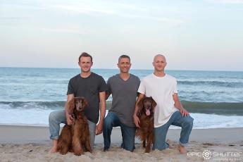 Hatteras Island Family Photographers, Family Portraits; Avon; Hatteras Island; Avon Fishing Pier; North Carolina; Epic Shutter Photography; Dog Portraits; Outer Banks Photographers; Pray for Maizie Faith