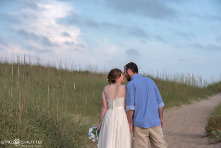 Cape Hatteras National Seashore, Buxton, North Carolina, Hatteras Island, Beach Wedding, Ligthhouse Wedding, Bride, Groom, Wedding Ring, Meredith Foust, Bliss Wedding Company, Epic Shutter Photography, Outer Banks Wedding Association, OBX Weddings, Wedding Photography, Old Lighthouse Beach, Hatteras Wedding Photographers