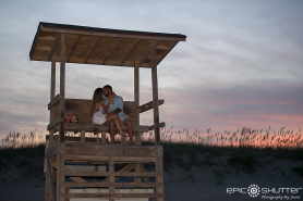 Epic Shutter Photography, Sunset, Elopement, Wedding Photography, Bride and Groom, Buxton, Hatteras Island, North Carolina, Cape Hatteras Lighthouse, Cape Hatteras National Seashore, Wedding Ring, Beach Wedding, Outer Banks Wedding Photographers, Hatteras Island Wedding Photographers, Wedding Photos, Beach Wedding, OBX