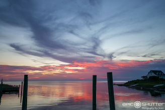 August 2, 2017, Avon Harbor, Sunset, Locals Only, Prime Season, Off Grid, Power Outage, Cape Hatteras National Seashore,Black Out 2017, Avon, North Carolina, Epic Shutter Photography, Epic Sunsets, Outer Banks Photographers, Epic Art Prints, Hatteras Island Local Photographers, Ghost Town Mid Tourist Season,