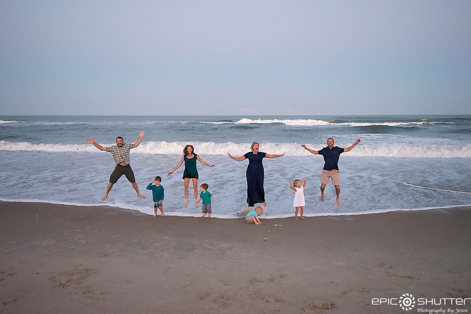 Family Photos, Family Portraits, Epic Shutter Photography, Avon, Hatteras Island, North Carolina, Outer Banks Photographers, Hatteras Island Photographers, Childrens Portraits, OBX Family Vacation