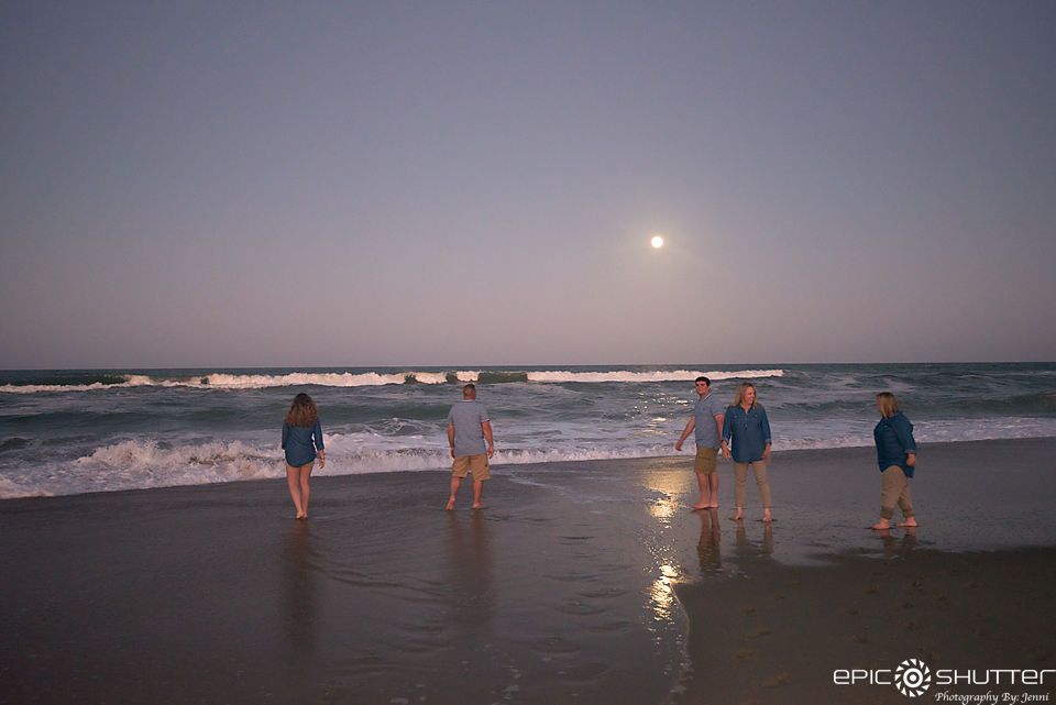 Family Portraits, Duck, North Carolina, Epic Shutter Photography, Hatteras Island Photographers, Family Vacation, Outer Banks Photographers, Senior Portraits