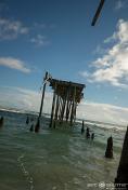 Frisco Pier, Frisco, North Carolina, Outer Banks Photographers, Hatteras Island Photographers, Final Days of the Frisco Pier, Epic Landmark,Epic Shutter Photography, Documentary Photographers