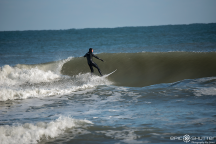 Surfing, December, Swell, Waves, Buxton, North Carolina, Lighthouse, Cape Hatteras National Seashore, Epic Shutter Photography, Outer Banks Photographers, Hatteras Island Photographers, Documentary Photography