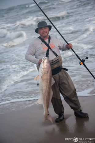 Randy Duke, Fisherman, Red Drum, Fishing, Cape Point, Buxton, North Carolina, Outer Banks Photographers, Hatteras Island Photographers, Fish, Documentary Photographers, Epic Shutter Photography