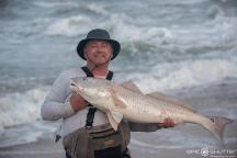 Randy Duke, Fisherman, Red Drum, Fishing, Cape Point, Buxton, North Carolina, Outer Banks Photographers, Hatteras Island Photographers, Fish, Documentary Photographers, Epic Shutter Photography