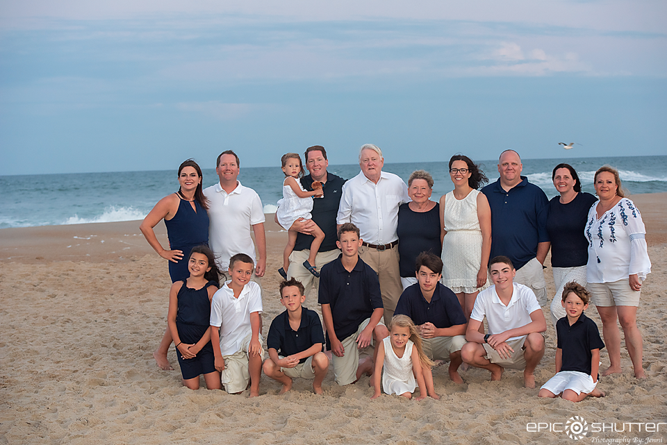 Family Portraits, OBX Family Vacation, Epic Shutter Photography, Avon, North Carolina, Cape Hatteras National Seashore, Family Photos, Outer Banks Photographer, Hatteras Island Photographer