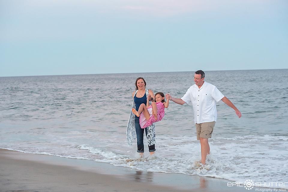 Family Portraits, Outer Banks Photographers, Sunset, Family Photos, Cape Hatteras National Seashore, Avon, North Carolina, Hatteras Island Family Photographers, Epic Shutter Photography, OBX Family Vacation, Beach Portraits,