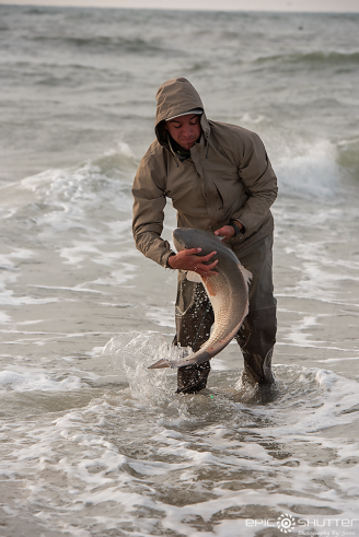 Red Drum Fishing, Cape Point, Outer Banks Documentary Photographer, Buxton, North Carolina, Hatteras Island, Cape Hatteras National Seashore, Fisherman, Fishing, Anglers, Epic Shutter Photography, Epic Fishing, Fishing Rods