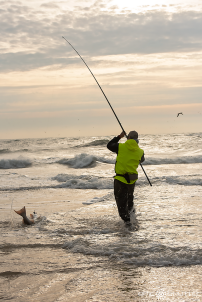 Ian Troublefield, Red Drum Fishing, Cape Point, Outer Banks Documentary Photographer, Buxton, North Carolina, Hatteras Island, Cape Hatteras National Seashore, Fisherman, Fishing, Anglers, Epic Shutter Photography, Epic Fishing, Fishing Rods