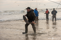 Bryan Freeze, Red Drum Fishing, Cape Point, Outer Banks Documentary Photographer, Buxton, North Carolina, Hatteras Island, Cape Hatteras National Seashore, Fisherman, Fishing, Anglers, Epic Shutter Photography, Epic Fishing, Fishing Rods