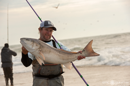 Nick Walke, Red Drum Fishing, Cape Point, Outer Banks Documentary Photographer, Buxton, North Carolina, Hatteras Island, Cape Hatteras National Seashore, Fisherman, Fishing, Anglers, Epic Shutter Photography, Epic Fishing, Fishing Rods