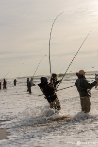 Randy Williams, Red Drum Fishing, Cape Point, Outer Banks Documentary Photographer, Buxton, North Carolina, Hatteras Island, Cape Hatteras National Seashore, Fisherman, Fishing, Anglers, Epic Shutter Photography, Epic Fishing, Fishing Rods