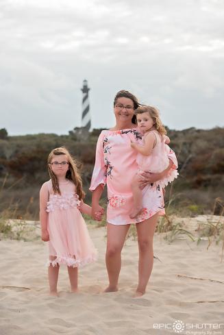 Family Portraits, Cape Hatteras Lighthouse, Cape Hatteras National Seashore,Epic Shutter Photogrpahy, Family Photos, Sunset, Children's Beach Portraits, Buxton, North Carolina, Outer Banks Photographer, Hatteras Island Photographer, OBX Family Photographer