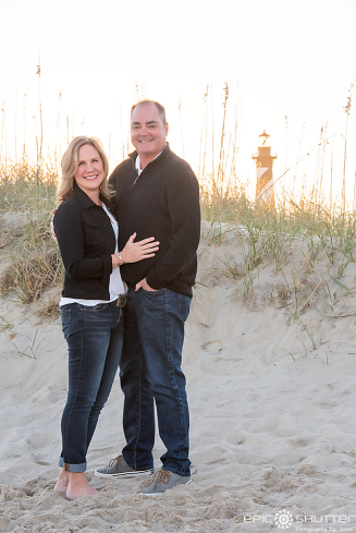 Family Portraits, Buxton, North Carolina, Family Photographer, Family Vacation, Epic Shutter Photography, Outer Banks Photographer, Hatteras Island Photographer, Cape Hatteras Lighthouse Family Portraits Beach Family Photos, Sunset