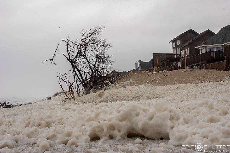 Winter Storm Diego, Avon, North Carolina, Epic Shutter Photography, Outer Banks Documentary Photographer, Hatteras Island Photographers, OBX Weather, Storms, Weather Channel, Beach Erosion, Coastal Flooding