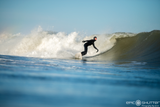 John Contestable, Jetty, Swell, CHSS Surf Club, Winter, Surfing, Outer Banks, Buxton, North Carolina, Epic Shutter Photography, After School Sessions, Students, Surf, Waves, Outer Banks Surf Photographer