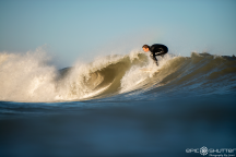 Jasper Morris, Jetty, Swell, CHSS Surf Club, Winter, Surfing, Outer Banks, Buxton, North Carolina, Epic Shutter Photography, After School Sessions, Students, Surf, Waves, Outer Banks Surf Photographer