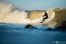 Dylan Gray, Jetty, Swell, CHSS Surf Club, Winter, Surfing, Outer Banks, Buxton, North Carolina, Epic Shutter Photography, After School Sessions, Students, Surf, Waves, Outer Banks Surf Photographer