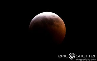 Super Wolf Blood Moon, Cape Hatteras National Seashore, Epic Shutter Photography, Outer Banks Photographer, OBX, Full Moon, Lunar Eclipse, Winter, Buxton, Hatteras Island, North Carolina