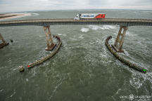 Oregon Inlet Replacement Bridge, Oregon Inlet Fishing Pier, Cape Hatteras National Seashore, Epic Shutter Photography, Outer Banks Photographer, Hatteras Island, North Carolina, Bonner Bridge Replacement, OBX, Food Lion