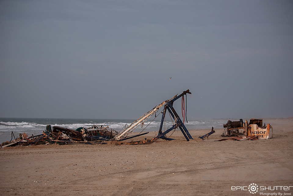 Shipwreck, Big John, Shrimp Trawler, Frisco, North Carolina, Epic Shutter Photography, Hatteras Island Photographer, Cape Hatteras National Seashore, OBX, Outer Banks Photographer, Growing Up Island