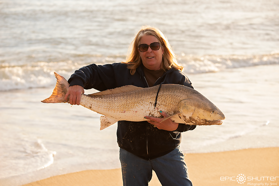 Ginger Knight, Frank and Frans, Fisherman, Red Drum Fishing, Drum, Cape Point, North Carolina, Epic Shutter Photography, Cape Hatteras National Seashore, Buxton, North Carolina, Angler, Surf Fishing, Outer Banks Photographer, Fishing