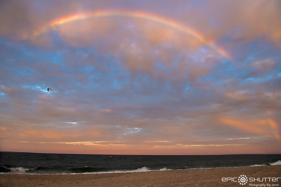 Outer Banks Photographer, Rainbow, Sunset, Salvo, North Carolina, Epic Shutter Photography, Outer Banks, Cape Hatteras Photographers, Cape Hatteras National Seashore, OBX Vacation, Hatteras Island Photographer