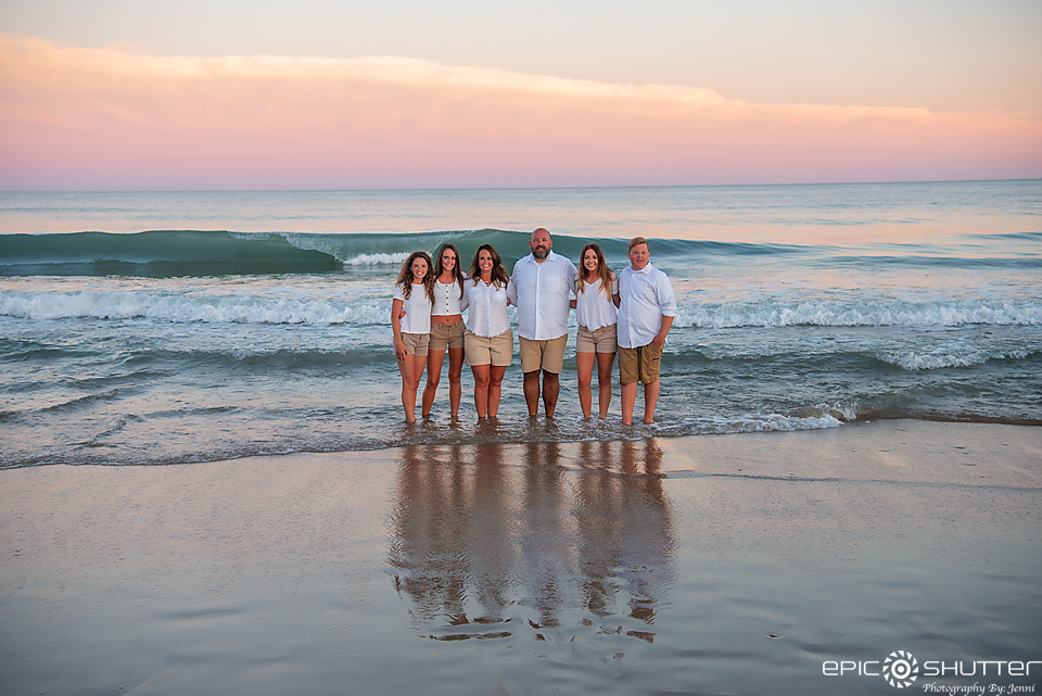 Outer Banks Photographers, Epic Shutter Photography, Hatteras, North Carolina, Family Portraits, Cape Hatteras Photographers, Sunset, Family Photos, Family Vacation Portraits, OBX Family Vacation, Cape Hatteras National Seashore, Family Beach Photos, OBX Photographers