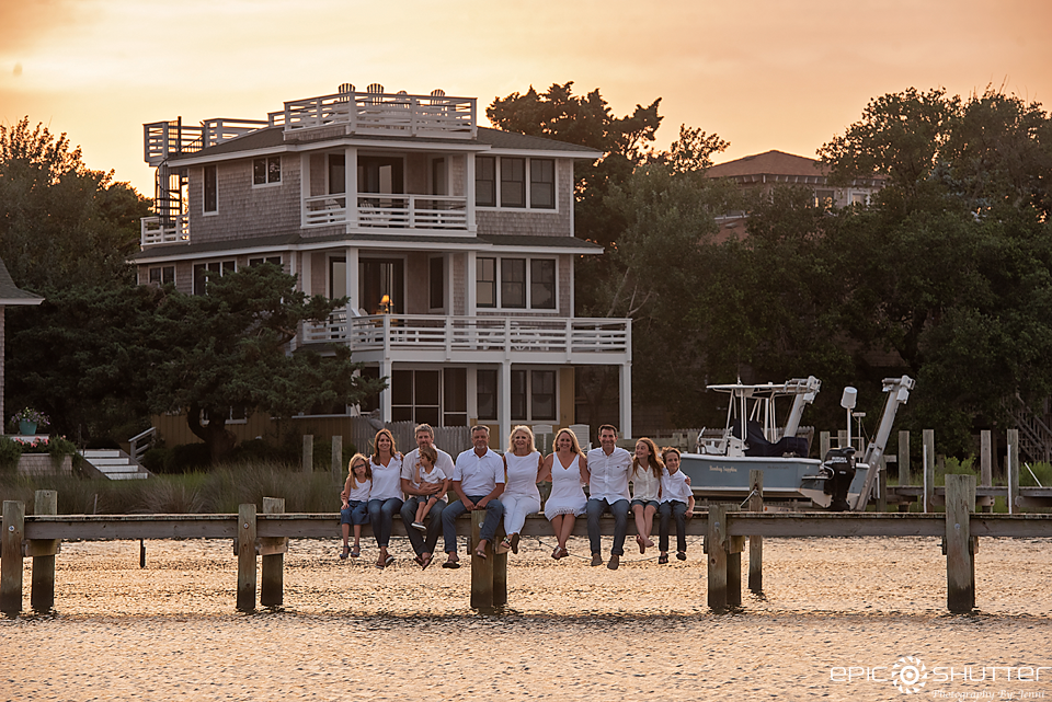 Ocracoke Island, North Carolina, Family Portraits, Outer Banks Photographers, Cape Hatteras Photographers, Silver Lake, Family Photos, OBX Family Vacation Photos, Ocracoke, Childrens Portraits