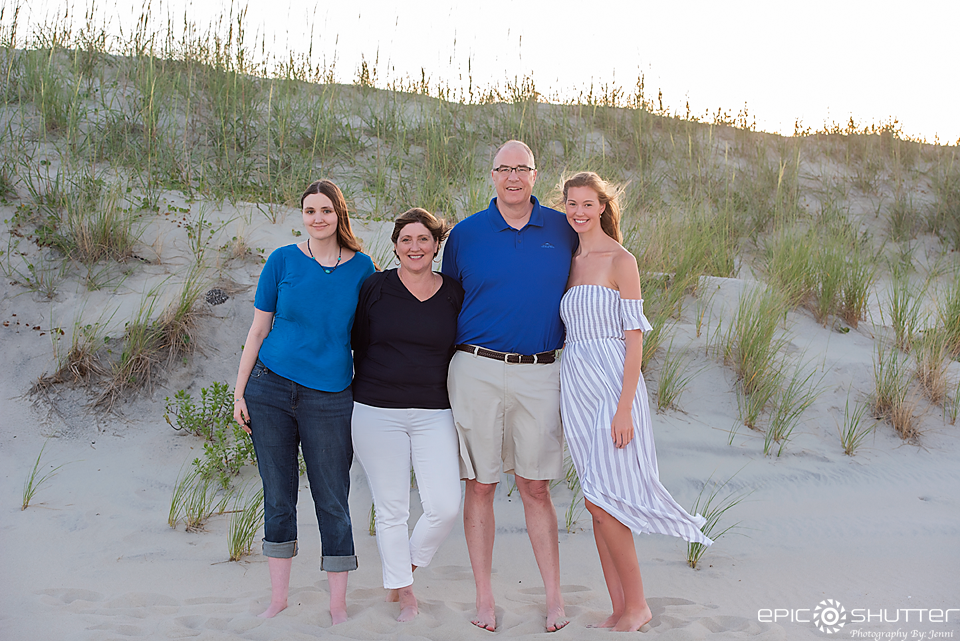 Cape Hatteras Photographers, Epic Shutter Photography, Family Portraits, Outer Banks Photographers, OBX Family Vacation, Salvo, North Carolina, Hatteras Island, Cape Hatteras National Seashore, OBX Photographers, Family Beach Photos, Sunset