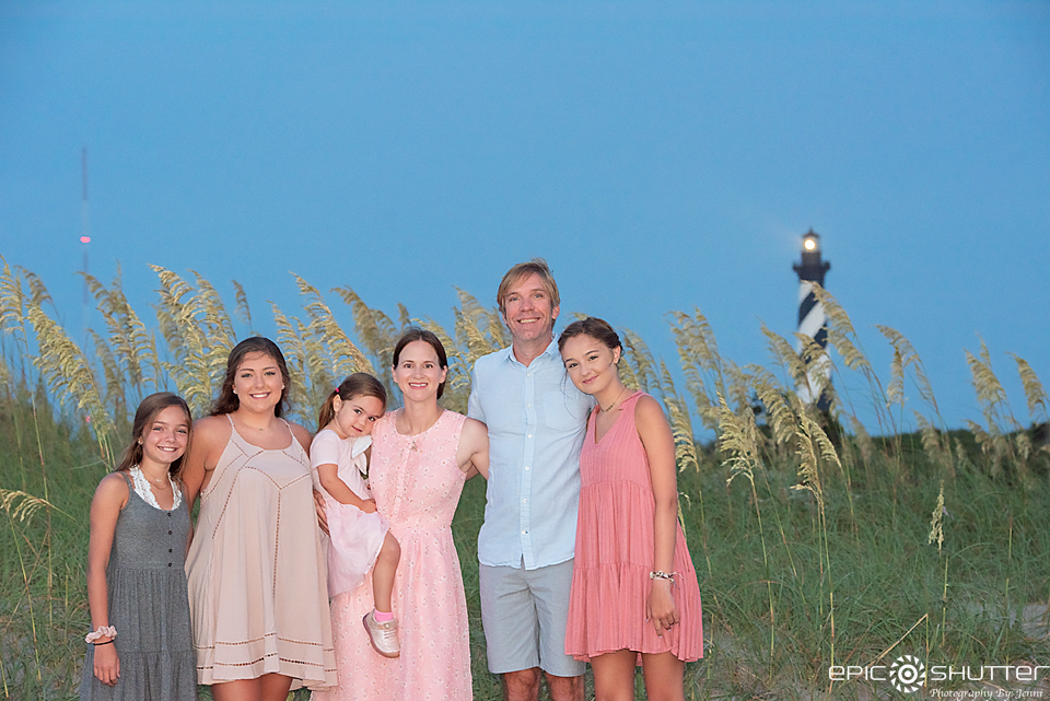 Family Portraits, Epic Shutter Photography, Cape Hatteras Lighthouse Family Photos, Cape Hatteras Photographers, Outer Banks Family Vacation, Outer Banks Photographers, Buxton, Hatteras Island, North Carolina, OBX Family Portraits, Family Photos, Sunrise, Cape Hatteras National Seashore