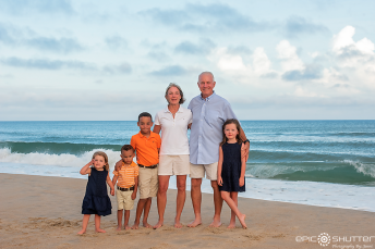 Outer Banks Photographers, Epic Shutter Photography, Family Portraits, Frisco, North Carolina, Cape Hatteras Photographers, Cape Hatteras National Seashore, Sunset, Childrens Beach Portraits, Family Photos, OBX Family Vacation Photos, Hatteras Island Photographers, OBX Photographers