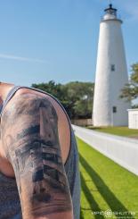 Ocracoke Lighthouse Tattoo, Ocracoke Lighthouse, Outer Banks Photographers, Epic Shutter Photography, Family Portraits, Ocracoke, North Carolina, Cape Hatteras Photographers, Family Photos, OBX Family Vacation Photos, Hatteras Island Photographers, OBX Photographers