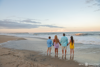 Cape Hatteras Family Portraits, Avon, North Carolina, Epic Shutter Photography, Outer Banks Photographers, Cape Hatteras Photographers, Family Photos, OBX Family Vacation Photos, OBX Photographers, Sunset, Family Portraits