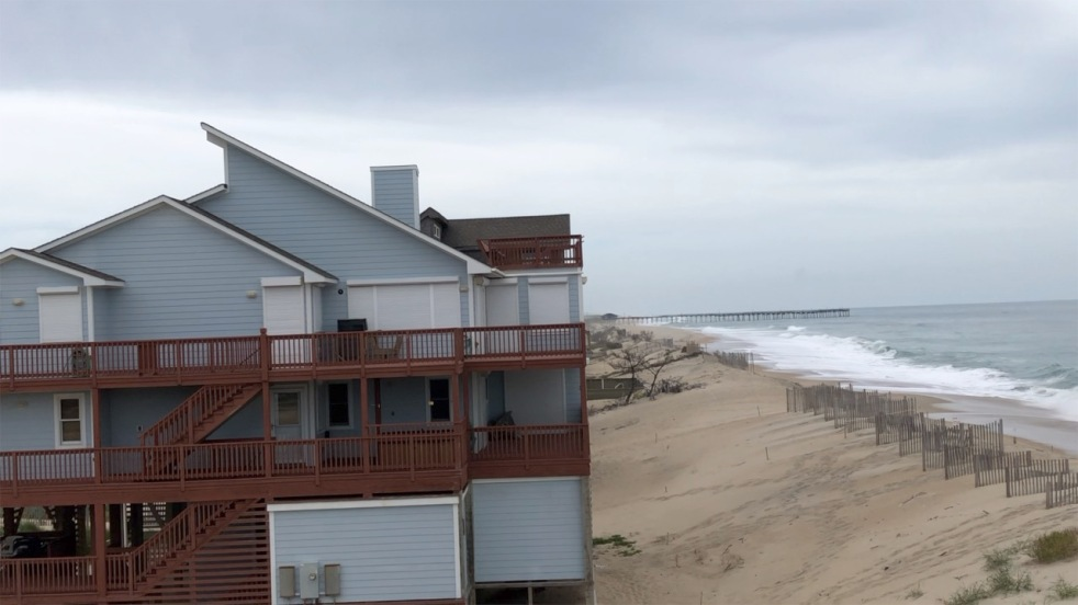 September 4, 2019, High Tide, South, Avon, North Carolina, Pre Hurricane Dorian, Outer Banks Photographers, Epic Shutter Photography, Documentary Photographer, Hatteras Island Photographers, Weather and Storms, OBX, Cape Hatteras National Seashore, Hurricane Season