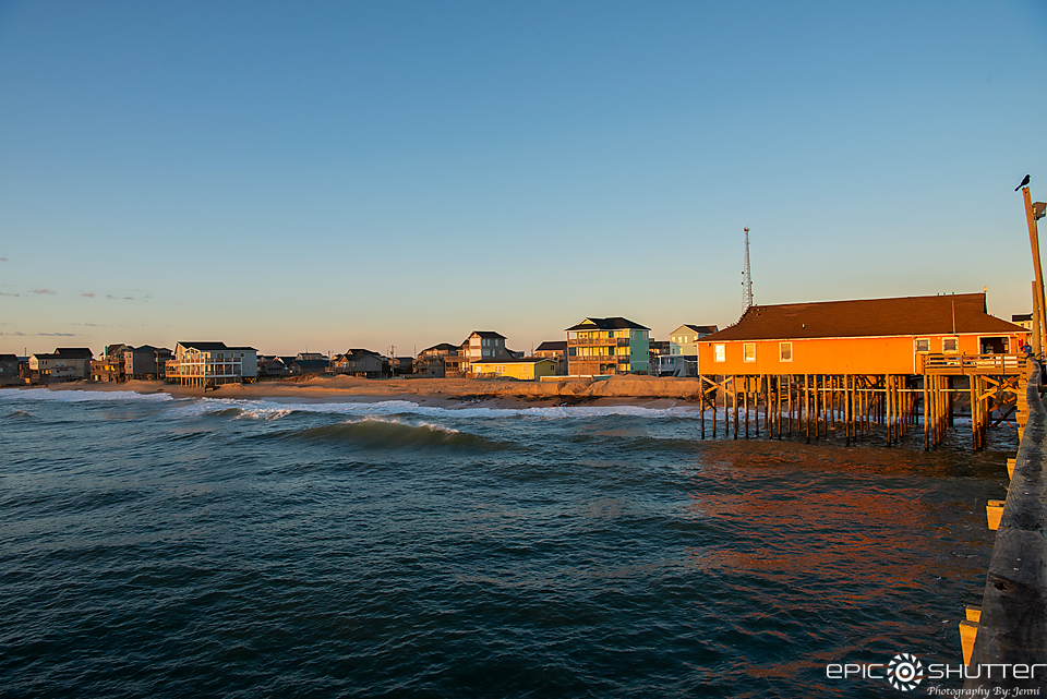 Rodanthe Pier, Sunrise, Epic Shutter Photography, Outer Banks Photographers, OBX Photographers, Cape Hatteras Photographers, Cape Hatteras National Seashore, Hatteras Island