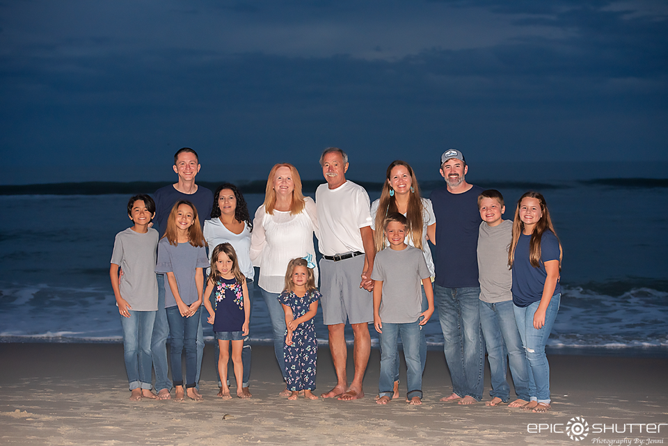 Outer Banks Family Portraits, Hatteras Island, North Carolina, Epic Shutter Photography, Hatteras Photographers, Ramp 55, Hatteras Village, Sunset Family Vacation Photos, OBX Family Photography, Fine Art Epoxy Resin Photography, Outer Banks Resin Photography Shop, Epic Family Portraits